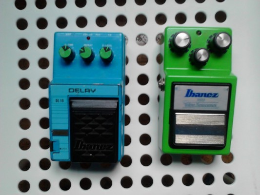 pedales Ibanez Ts9 y Ibanez Dl10