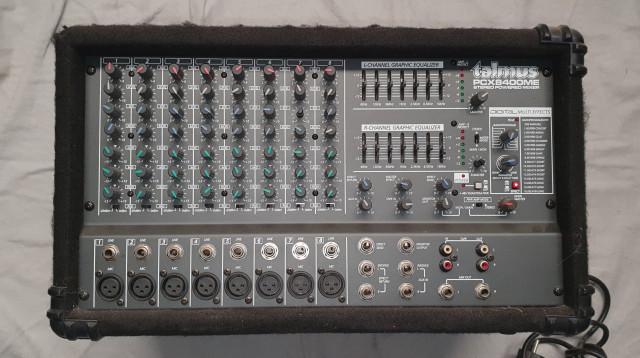 AMPLIFICADOR TALMUS PCX8400