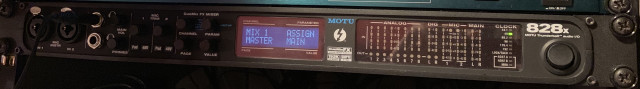Motu 828 x Thunderbolt y USB tarjeta de sonido incl. MIDI interface con onboard