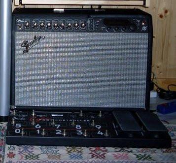 Fender Cyber Twin + Pedalera + Flycase + Fundas.
