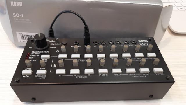 Secuenciador Korg SQ-1