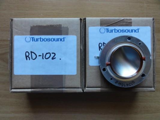 2X Tweeter turbosound RD-102