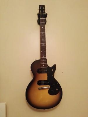 Gibson melody maker 2007 sunburst reissue dual pickup