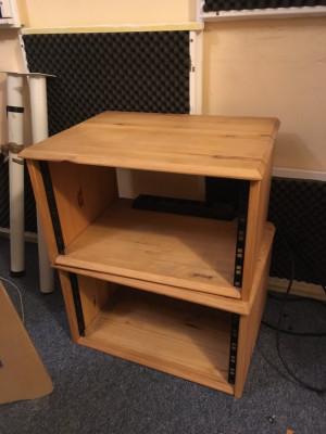 Muebles de rack para 5 unidades