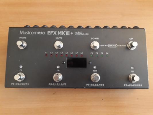 RESERVADO Musicomlab Efx MKIII  Switcher 8 loops