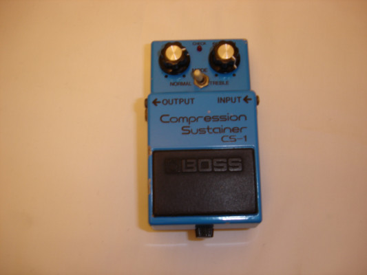 Boss CS-1. Compression Sustainer. Made in Japan de los 80´s.