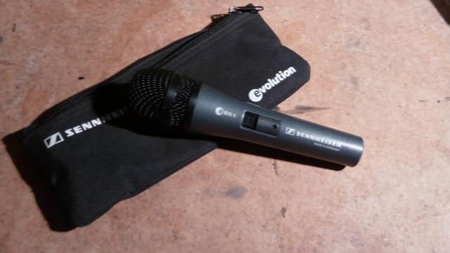 Micrófono Sennheiser e 835 s