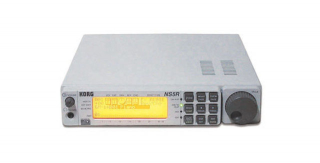 Módulos  Korg NS5R y Roland JV-880 estropeados
