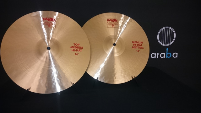 "Hit hat Charles 14"" Paiste Serie 2002 Medium"