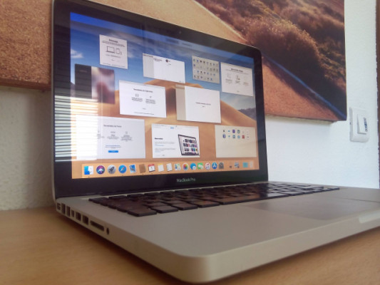 Macbook pro 13 pulgadas  mediados del 2012
