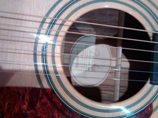 Guitarra acústica Fender CD 220 S