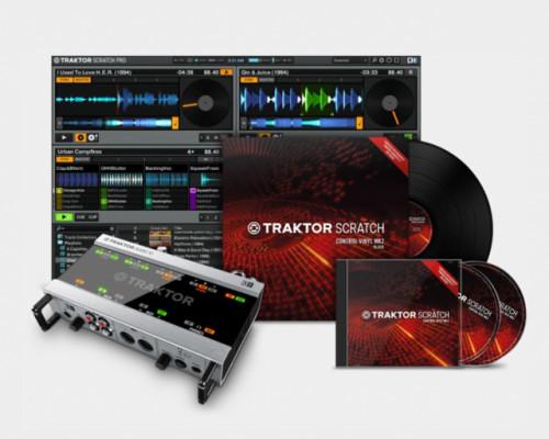 Traktor Scratch Audio 10 (pack completo)