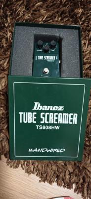 Ibanez tubescreamer handwired