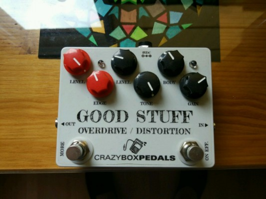 Overdrive GOOD STUFF (Crazy box pedals)