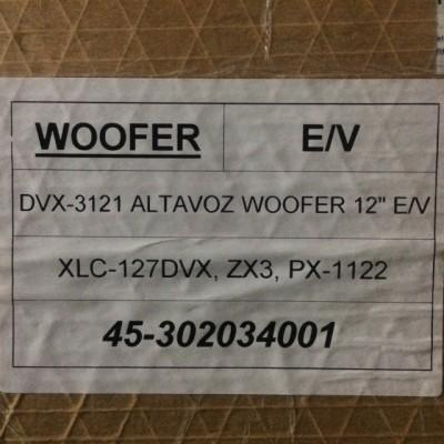 """EV 12"""", DVX-3121"""