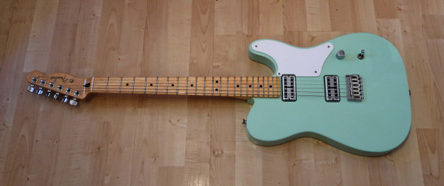 Fender Cabronita con estuche duro