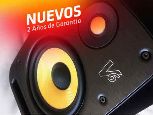 Monitores estudio KRK V6S4 NUEVOS con GARANTÍA
