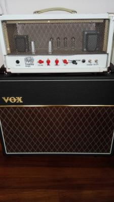 """Amplificador Vox Ac30 """"Handmade"""" y pantalla Vox V212C como nueva"""