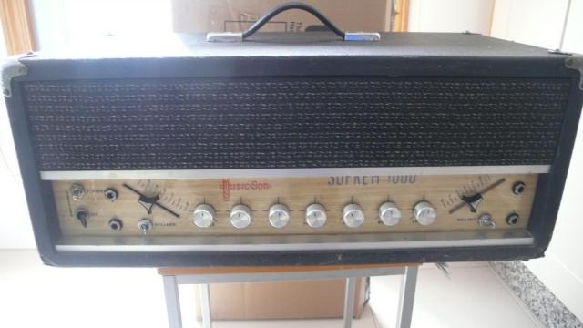 Amplificador MusicSon Supreme 1000 , calidad profesional!!!