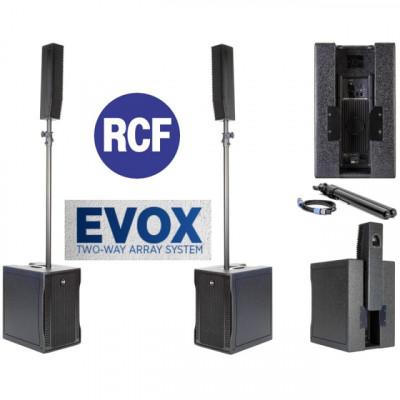 Equipo Completo RCF EVOX 8 V2 activo 1400w RMS