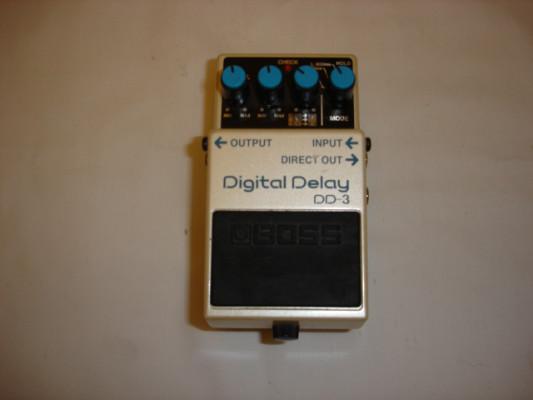 Boss DD-3. Digital Delay. Como nuevo.