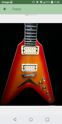 Guitarra Dean Flying 35 aniversario