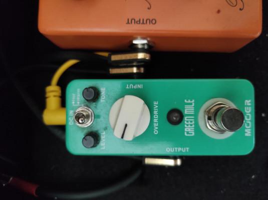 Mooer Green Mile Ts 808 tubescreamer