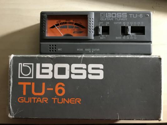 Afinador Boss Tu-6