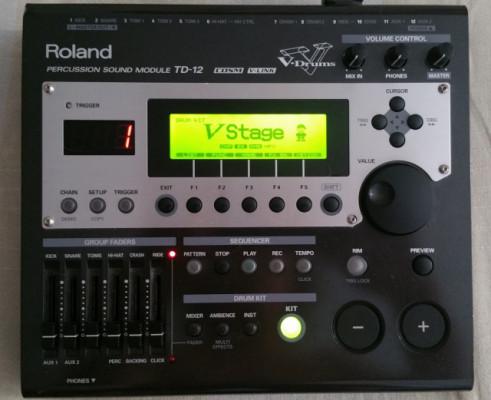 Modulo de bateria Roland TD 12