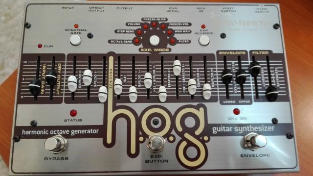 RESERVADO. HOG Electro Harmonix (armonizador + sinte)