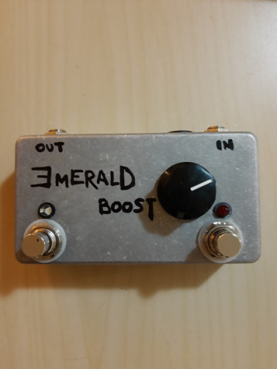 Pedal doble clones EQD tentacle Octave Up y super hard one Booster