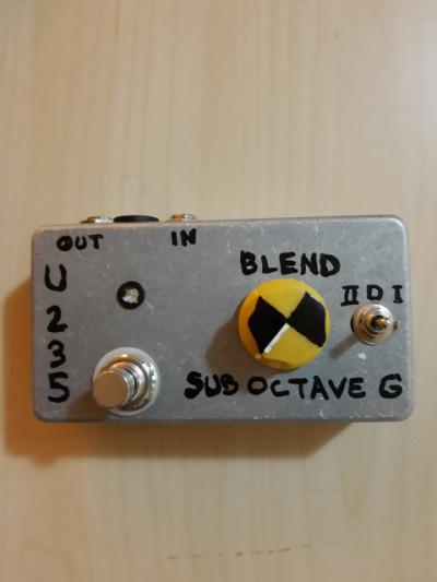 Pedal u235 sub Octave generator