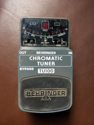 Behringer Chromatic Tuner TU100