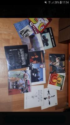 Lote de discos de vinilo lp rock