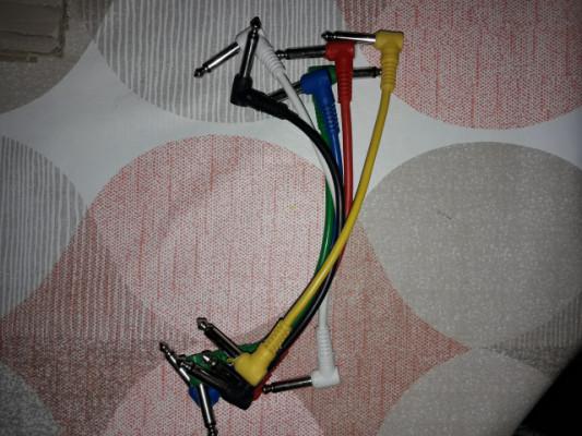 Cables para pedales 6 unidades