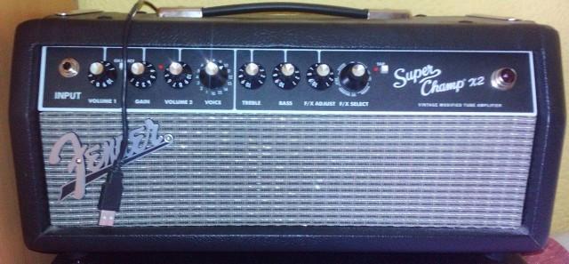 Cabezal Fender SuperChamp X2 15W