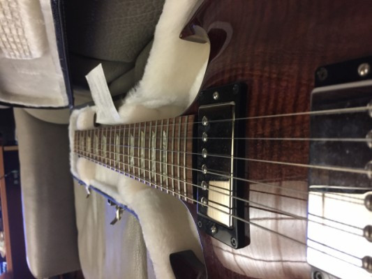 GIBSON SG CARVED  Limited Edition