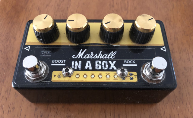 Gam pedal, Marshall in a box
