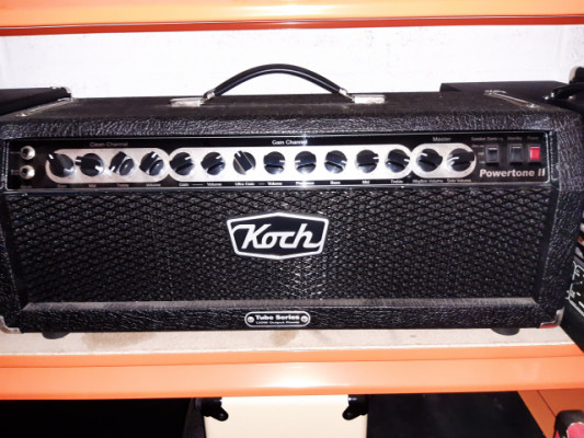 "Koch Powertone II 100 watts + pantalla 4x12"" original"