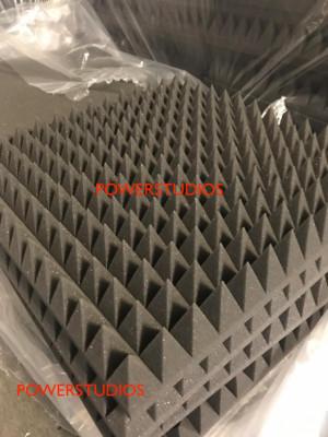 Promoción,paneles acústicos optimal pyramid, 28 paneles 7cm Nuevos en Stock `envío incluido