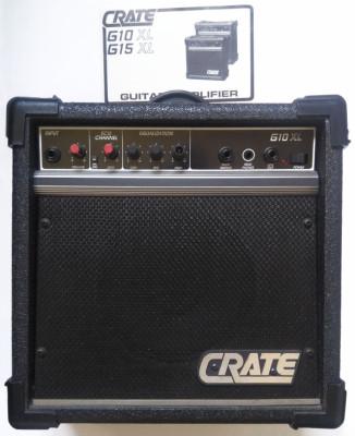 Amplificador e guitarra CRATE G10 XL