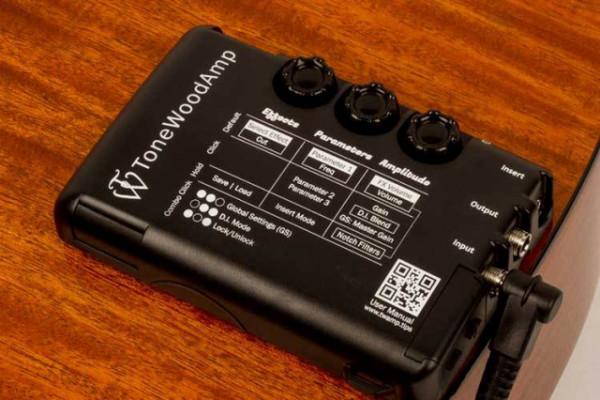 Multiefectos TONEWOOD AMP para guitarra acústica / sin ampli
