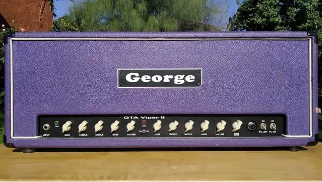 Cabezal George Viper 100w/50w