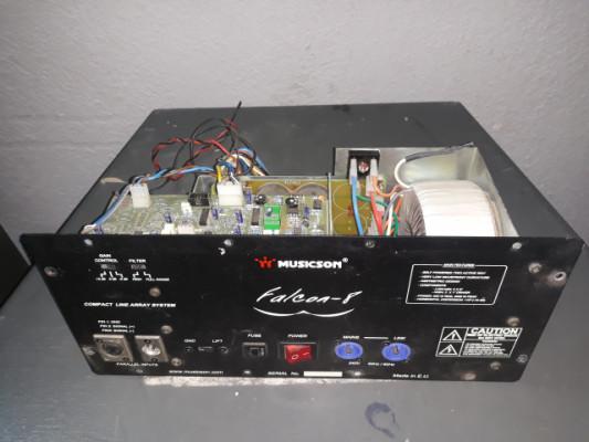 Musicson falcon 8. Modulos de amplificacion