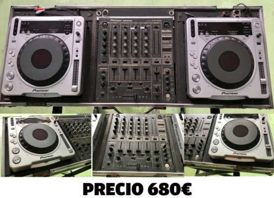 CABINA DJ PIONEER