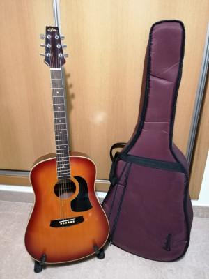 O CAMBIO Guitarra acústica Aria Aw 200Av