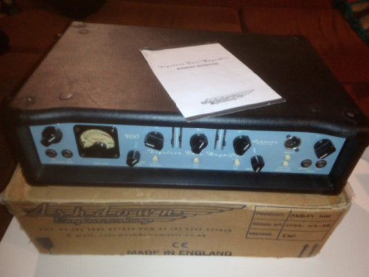 Amplificador de bajo ASHDOWN Klystron.