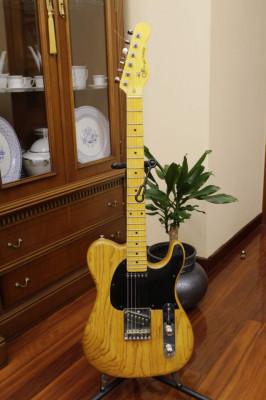 G&L Asat Classic mástil de Tribute cuerpo Luthier
