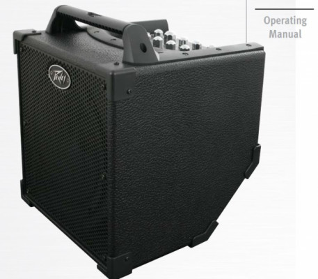 Peavey Nano VyPyr (Amplificador de Guitarra con Batería)