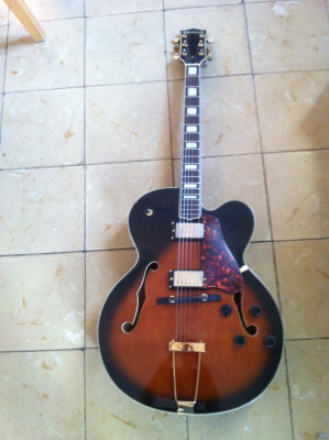 Guitarra de Jazz. Copia Gibson L5